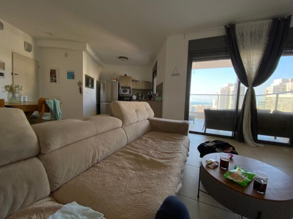 5 room apartment with an awesome ocean view FOR SALE, Hadera beach