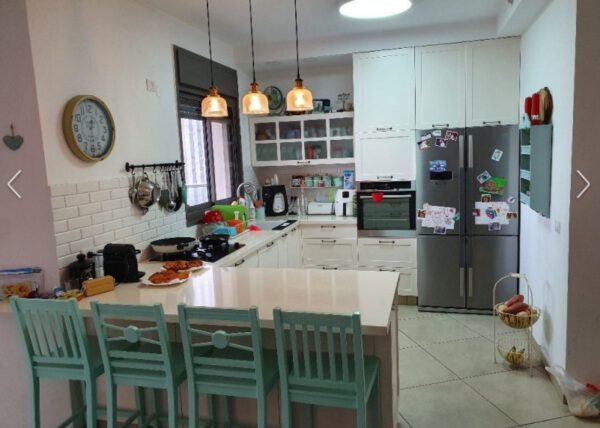 Beautiful 4 room apartment FOR SALE on the Hadera coast